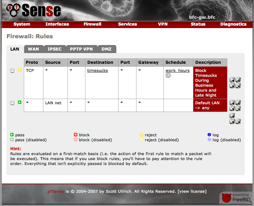 pfSense - Firewall and Router OS - Linux Server Admin Tools