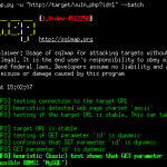 SQL injection and database takeover tool- SQLMAP