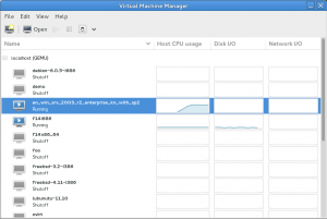 Installing Virtual Machine Manager – virt-manager