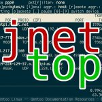 jnettop – Visualises network traffic monitoring tool